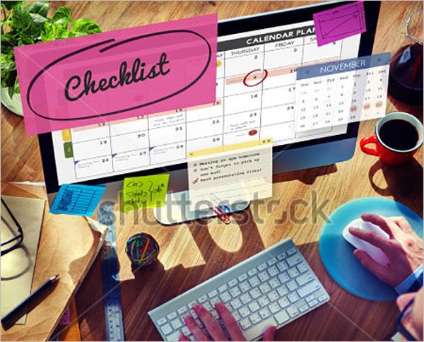 Event Schedule Checklist Template