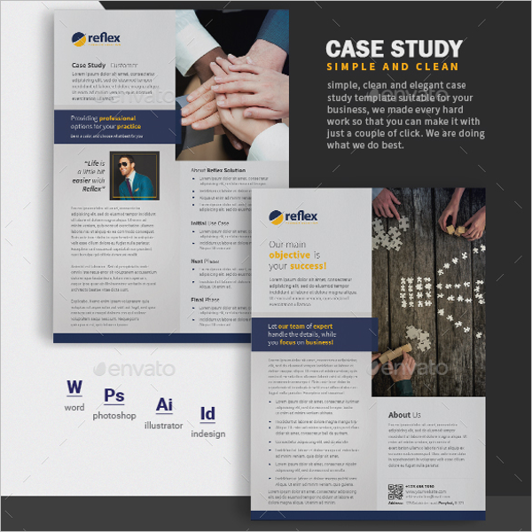 Example Of Case Study Template