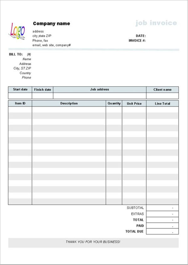 Example Of Hotel Receipt Template