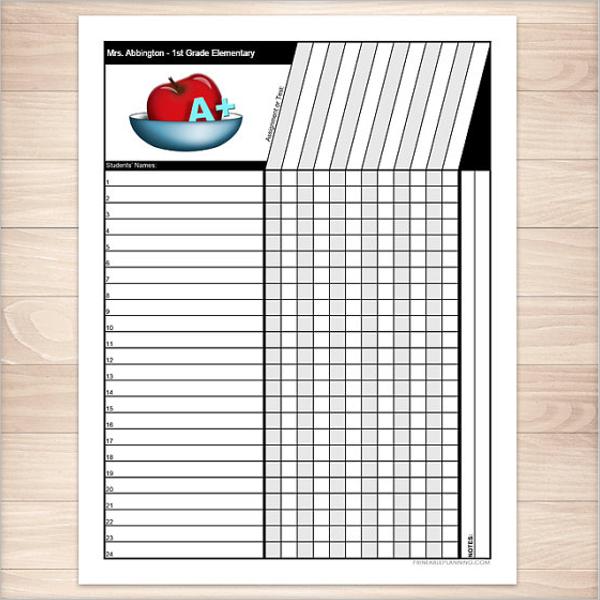 Excel Grade Sheet Template