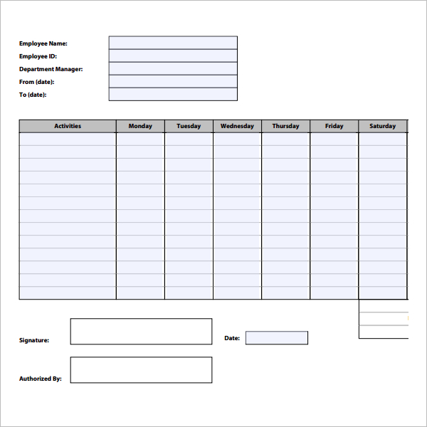 21+ Free Time Tracking Templates Excel, Spreadsheet Formats