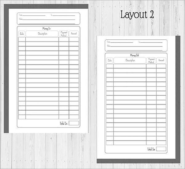 Expense Report Form PDF