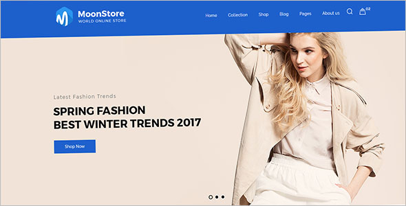 Fashion Bootstrap Template