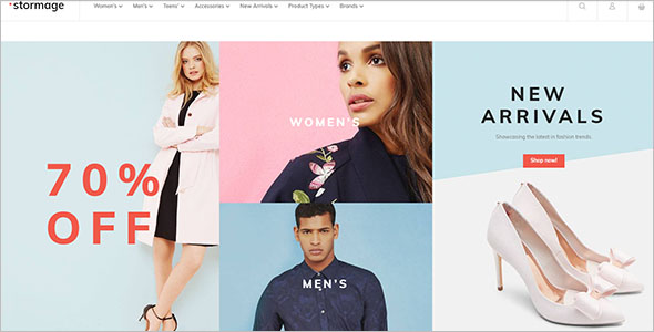 Fashion Clothes Responsive Theme