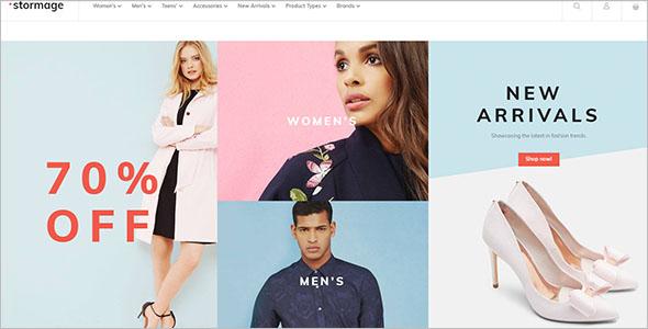 Fashion Clothes Responsive Theme