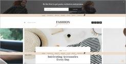 Fashion Grid Blog Template