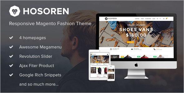 Fashion Magento 2.0 Template