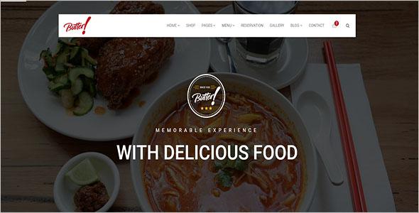 Fast Food Drupal 8 Theme