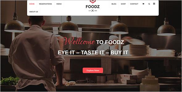 Fast Food Joomla Template