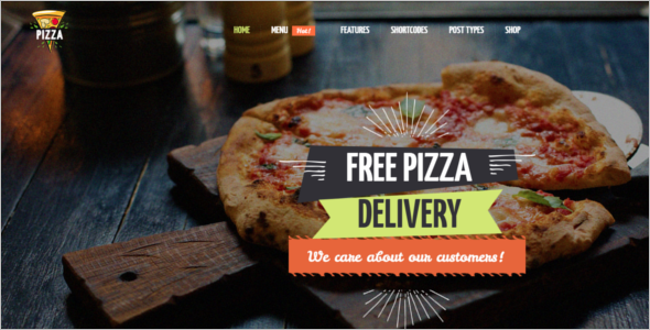 Fast Food Ordering Website Template