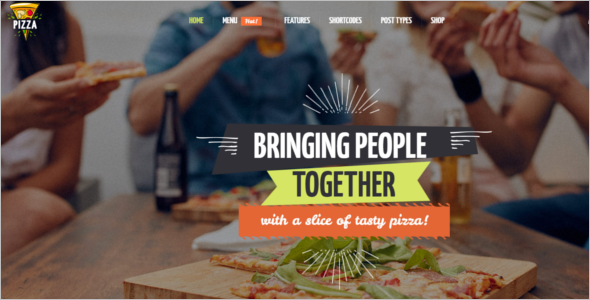 Fast Food Website Theme