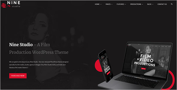 Film Maker Video Blogger Template
