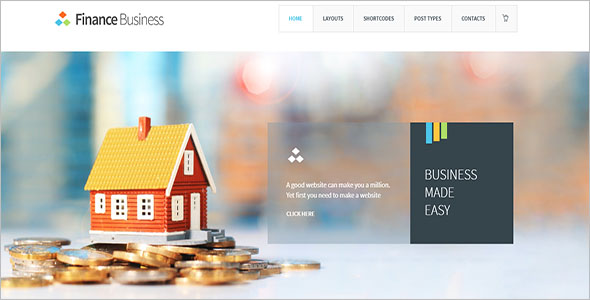 Finance Advisor WordPress Theme