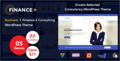 Finance & Consulting WordPress Theme