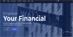 Finance Plus WordPress Theme