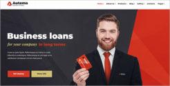 Finance Service WordPress Theme