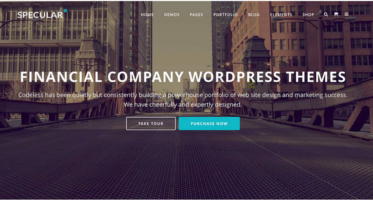 Financial Company WordPress Themes