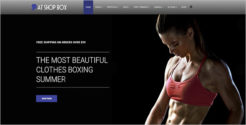 Fitness Person Joomla Template