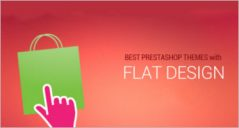 Flat Design Prestashop Themes