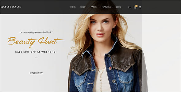 Flat Fashion Magento Theme
