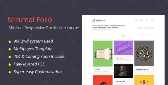 Flexible Portfolio Joomla Template