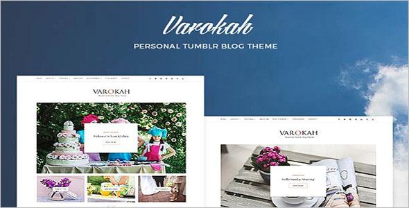 Floral Tumblr Blog Theme