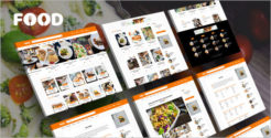 Food Blog Grid Theme