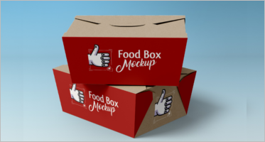 102+ Food Box PSD Mockup Templates