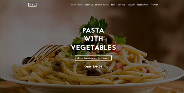 Food CateringDrupal Template