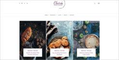 Food Grid Blog Template