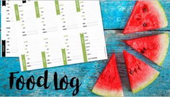 Food Log Templates