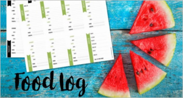 45+ Printable Food Log Templates