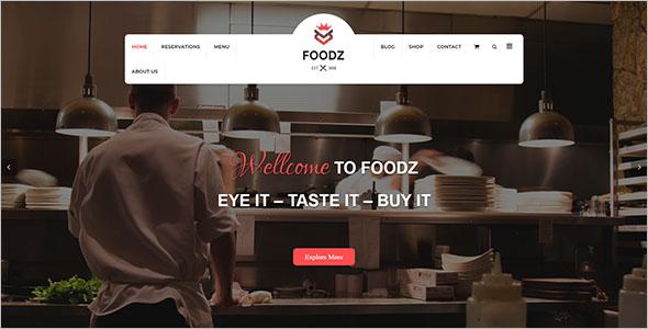 Food Shop Joomla Template