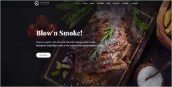 Food Store Booking Joomla Template