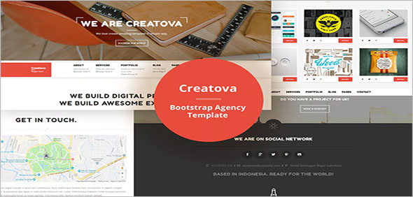 Free Agency Bootstrap Template