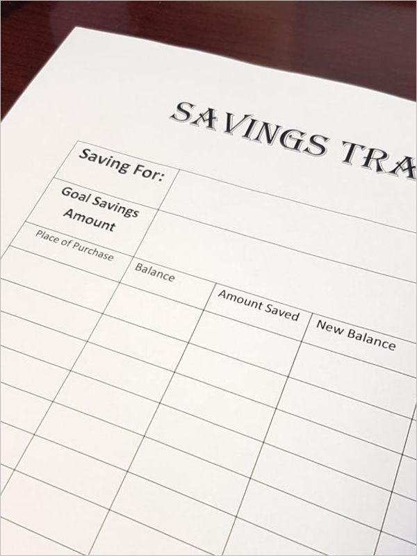 Free Budget Tracking Template