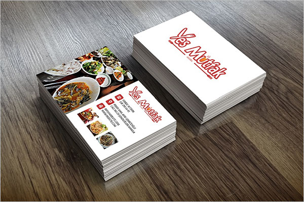 Free Business Card For Catering Services