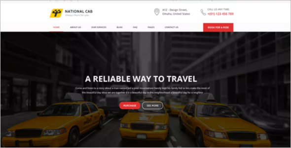 Free Company Website Template