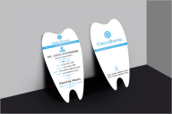 Free Dental Care Business Card Template