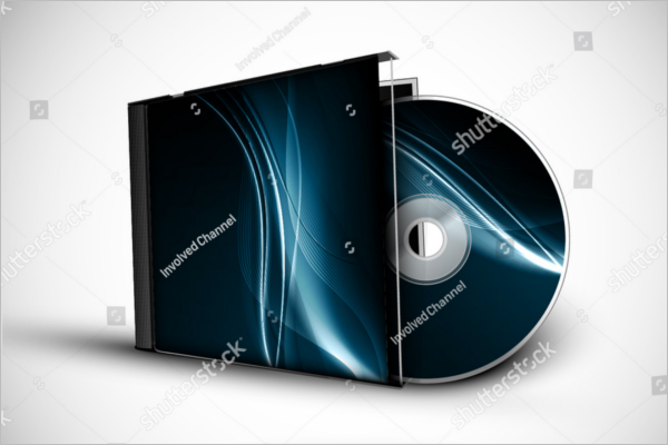 Free Download CD Case Template