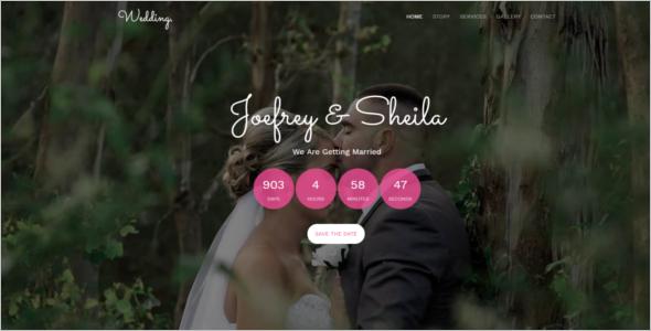 Free Event Management Website Theme