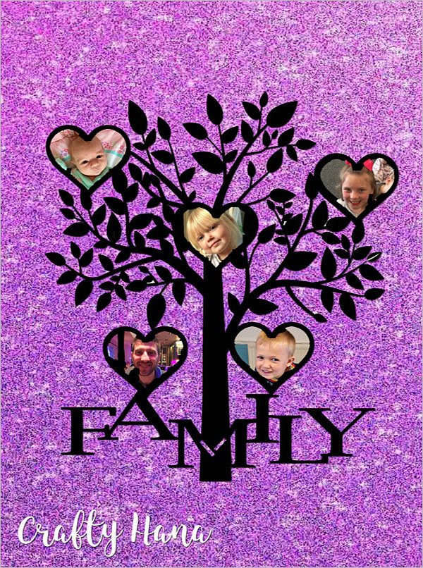 Free Family Tree Photo Album Template