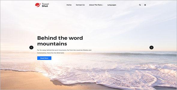 Free Travel Agency WordPress Theme