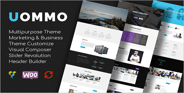 Freelance & Agency Bootstrap Template