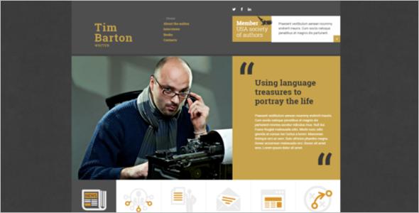 Freelance Writing Website Theme
