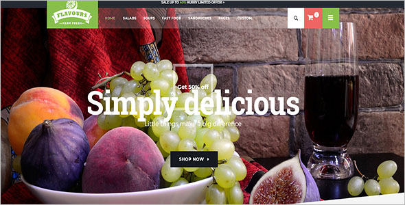 Fruit Store Ecommerce HTML Template