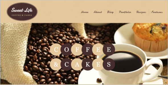 Fully Responsible Cafe Website Theme