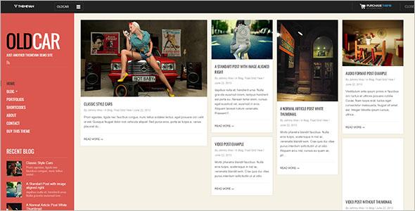 Fully ResponsiveGrid Blog Template