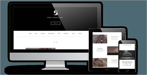 Fully Responsive Modern Business WordPress Theme