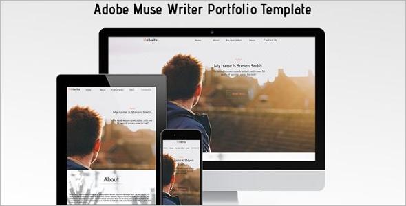 Fully Responsive Writer Website Template